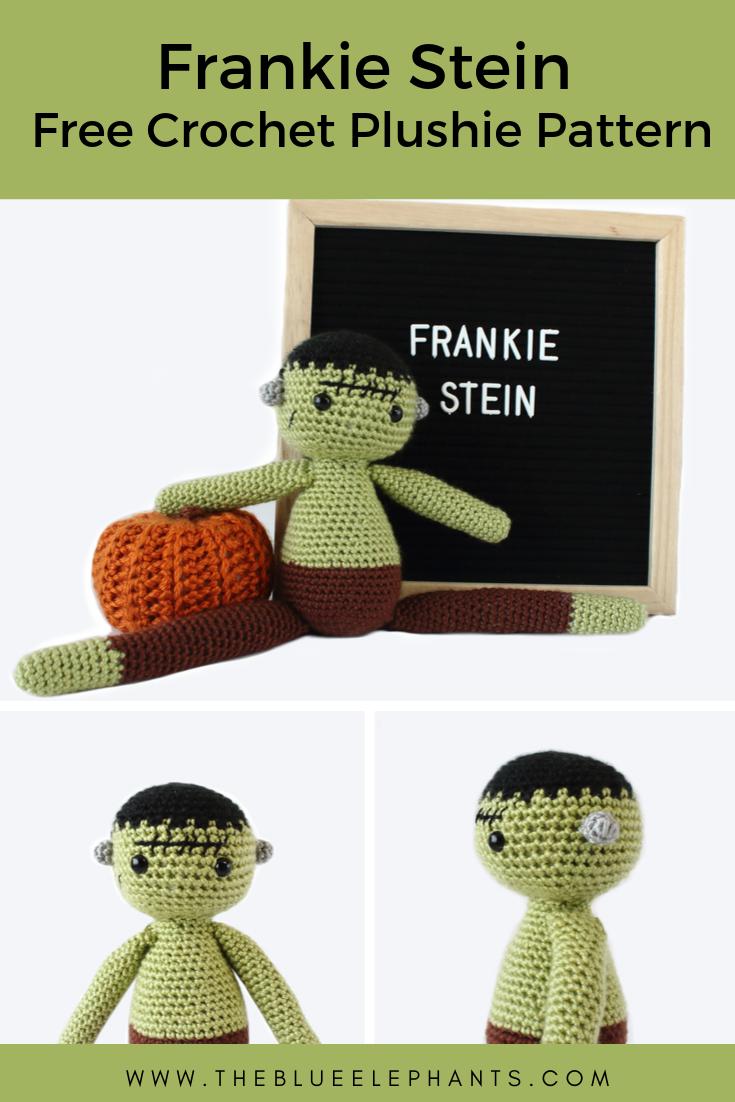 crochet pattern for frankenstein plushie