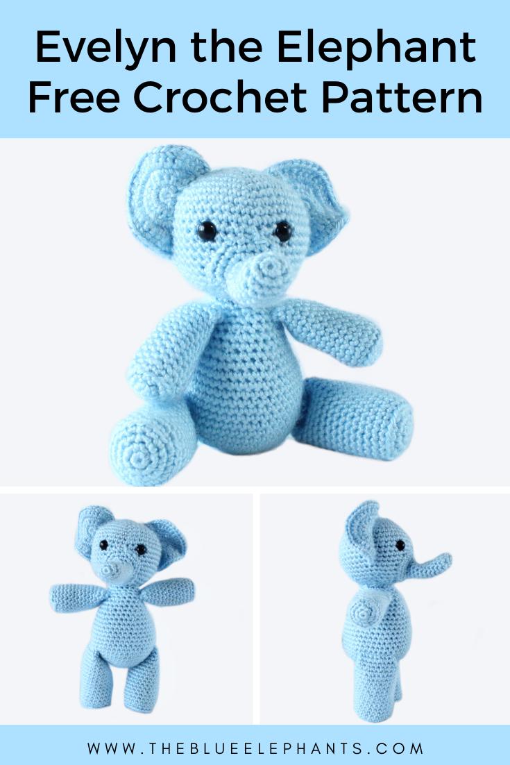 Crochet Happy Elephants (Amigurumi To Go!) (With images) | Crochet ... | 1102x735