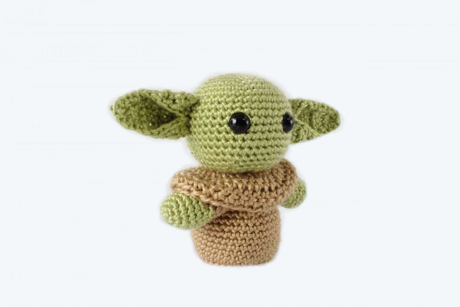 BABY YODA INSPIRED | HOW TO CROCHET | AMIGURUMI TUTORIAL | FAN ART ... | 1067x1600