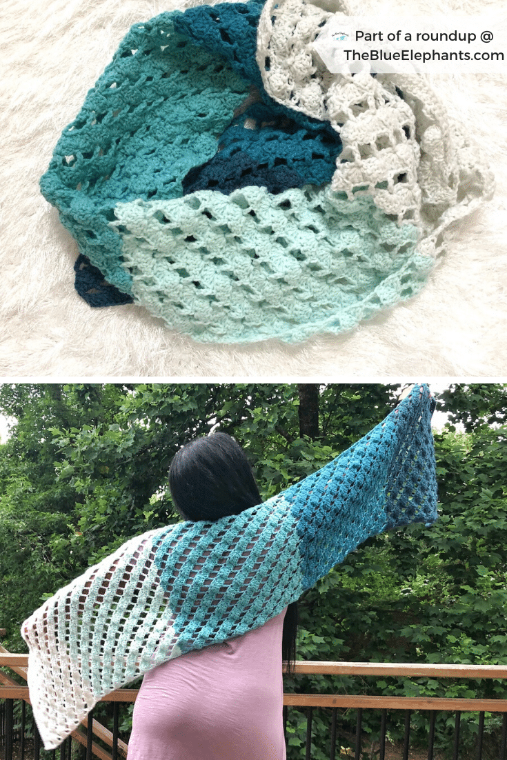 Set of Shawl and clutch  Mother/'s Day gift