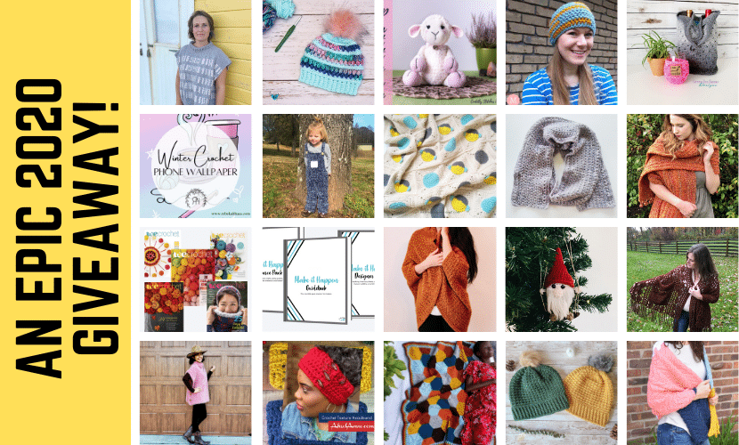 Epic 2020 Giveaway! Crochet Patterns, Resources and More!
