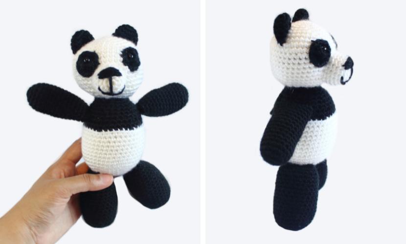 Pudge the Panda Bear: Free Crochet Panda Pattern