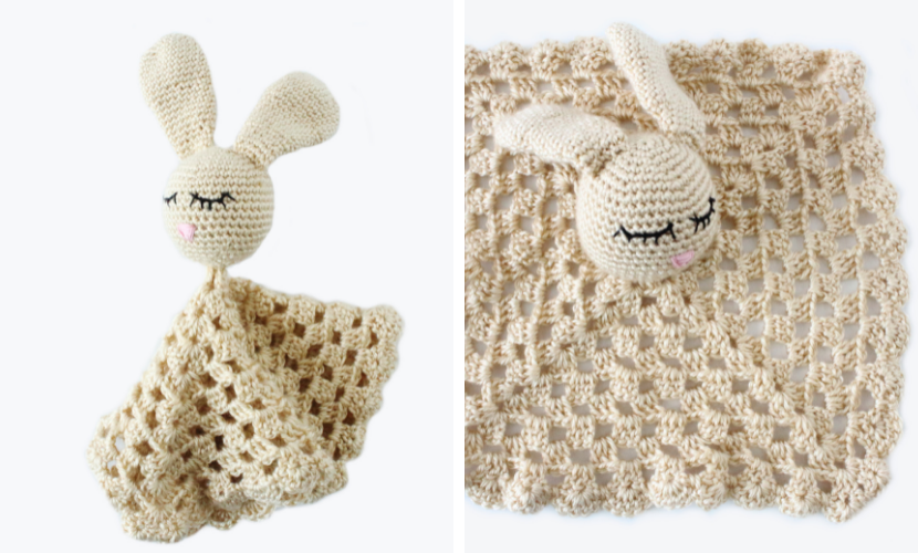 Willow the Bunny Lovey: Free Crochet Pattern