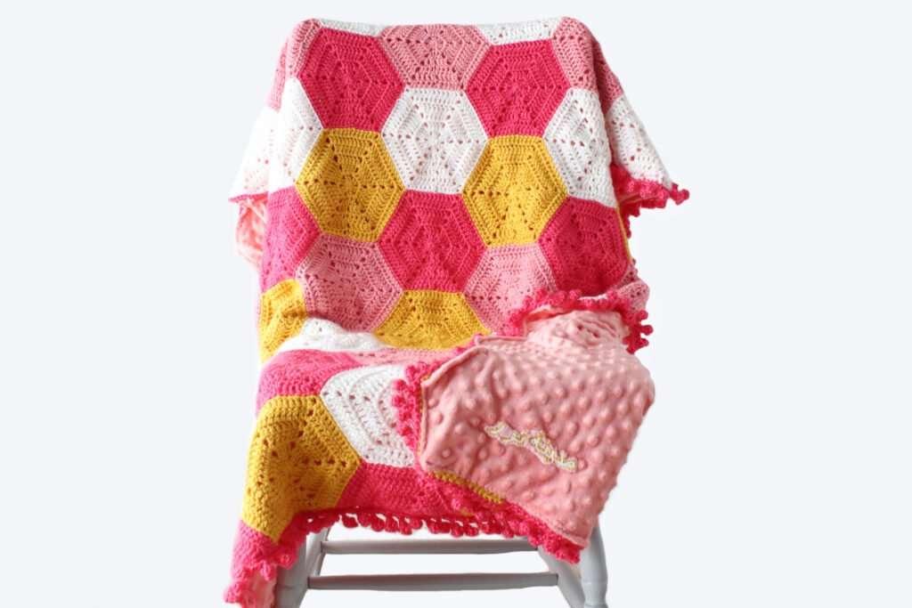 Khadija Free Crochet blanket pattern